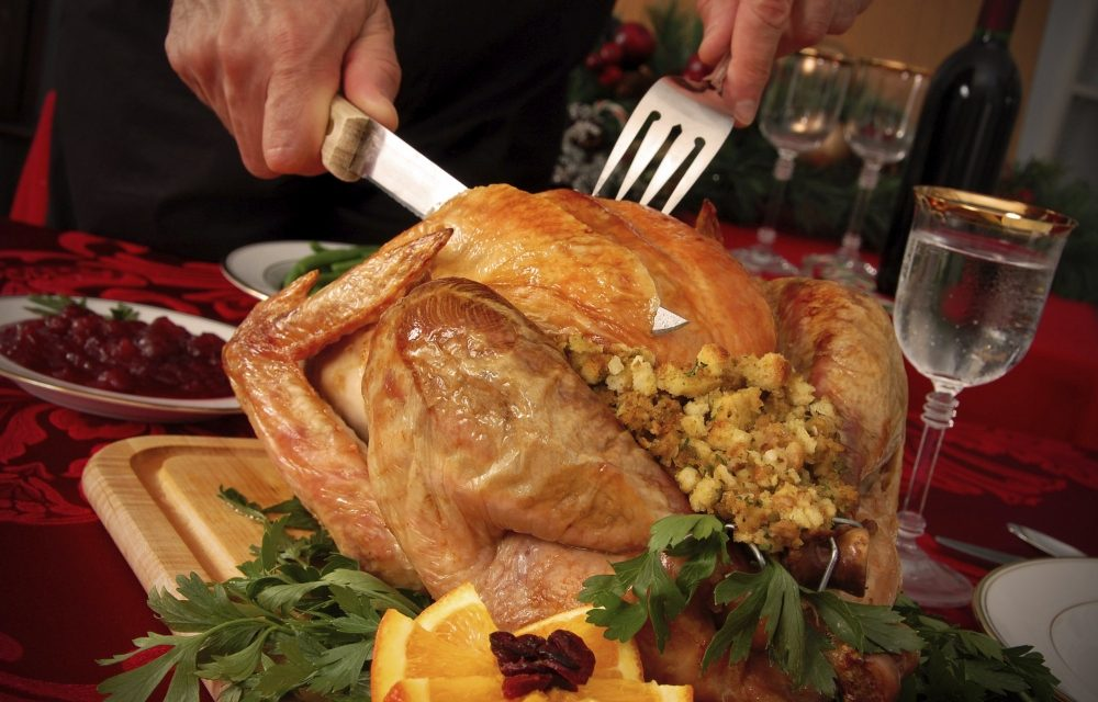 And Spatchcocking A Turkey