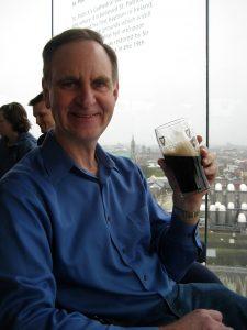 John in Dublin (Guiness Tour!)