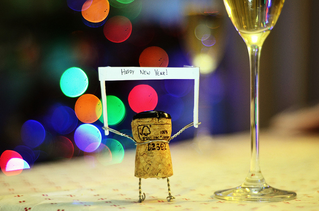 Happy New Year (Photo by Edd Sowden via Flickr Creative Commons)