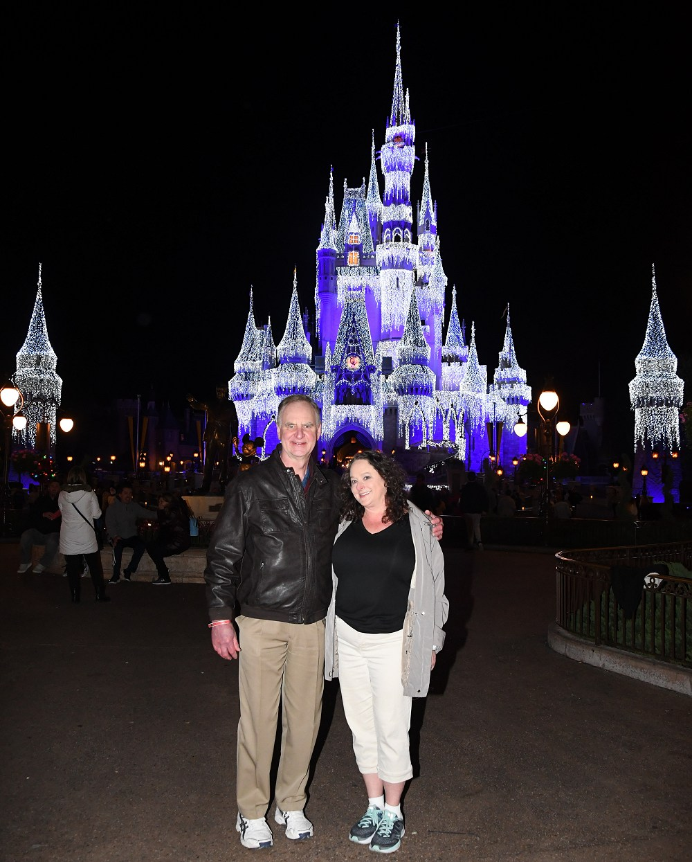 Someone I love - us at Disney World in Jan 2020